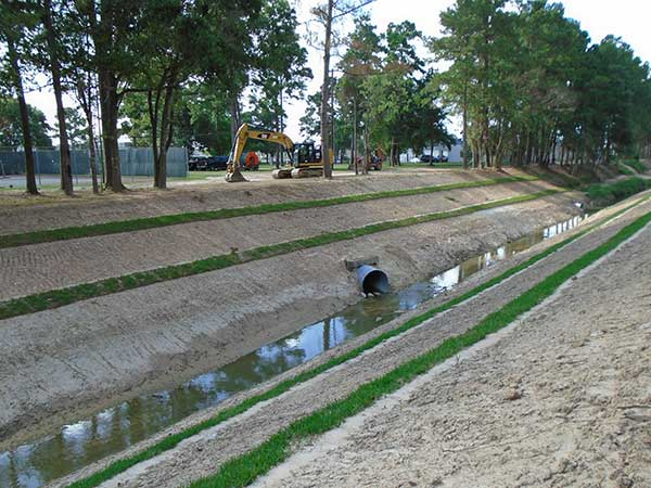 Harris County Flood Control District- Erosion Repairs